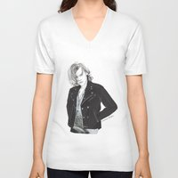 coconutwishes V-neck T-shirts featuring Biker Styles by Coconut Wishes