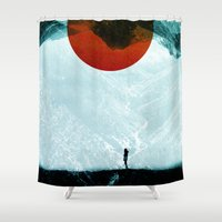 arya stark Shower Curtains featuring Found in isolation by Stoian Hitrov - Sto
