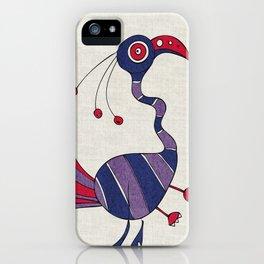 Purple Turrrkey iPhone Case
