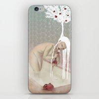 bath iPhone & iPod Skins featuring Bath by Natalie Lucht