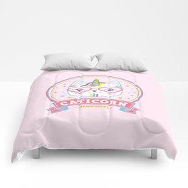 cat unicorn caticorn cute kids gift Comforters