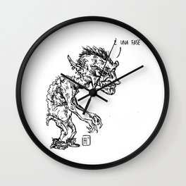 Mostro Brutto in una fase Wall Clock
