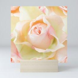 Rosebud in Pastel Colors #decor #society6 #buyart Mini Art Print