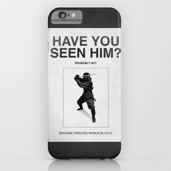 Have you seen him? iPhone & iPod Case