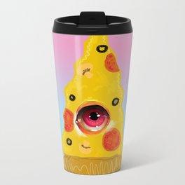 Pizza Eye Metal Travel Mug