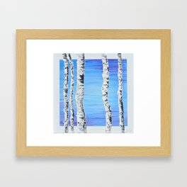 Forest Sentries Framed Art Print