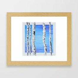 Forest Sentries Framed Art Print