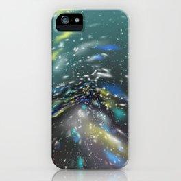 Deep Sea Space iPhone Case