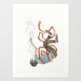 Burdened (Offspring) Art Print