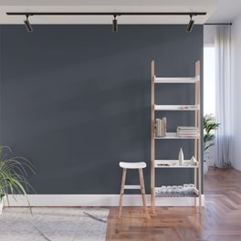 Sherwin Williams Trending Colors of 2019 Charcoal Blue (Dark Blue) SW 2739 Wall Mural