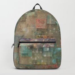Dreamy Ceramic Tiles Backpack