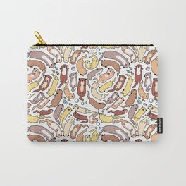 Adorable Otter Swirl Carry-All Pouch