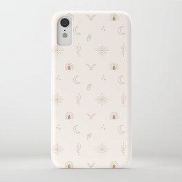 Bohemian Desert Neutrals iPhone Case