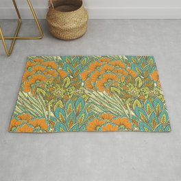 Floral Tropical pattern Rug