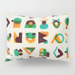 Shape of thoughts Pillow Sham