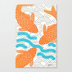 Lucky Fish Canvas Print