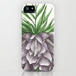 Fritillaria Lavendar iPhone Case