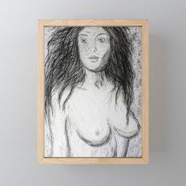 Nude Framed Mini Art Print