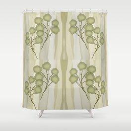Branch Leaf Shower Curtain