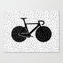 Track Bike Canvas Print