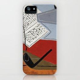 "Juan Gris ""Bol Et Livre (Bowl And Book)"" iPhone Case"