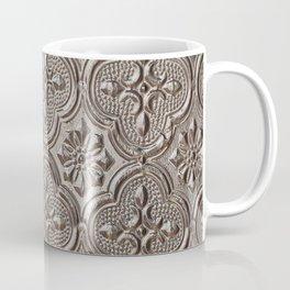Silver Emboss Coffee Mug