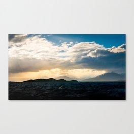 krɪˈpʌskjʊlər Canvas Print