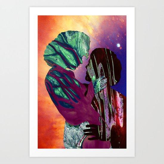 Glyphs Art Print