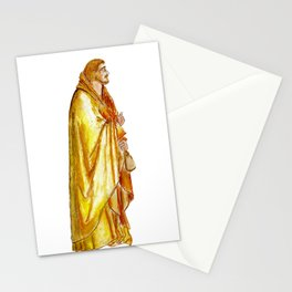 Life of Christ 'Judas Betrayal' figure interpretation Stationery Cards