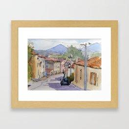 Fa High Street Framed Art Print
