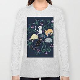 Garden Kitties Long Sleeve T-shirt