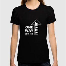 Christian Design - One Way Jesus T-shirt