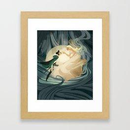 Lure Framed Art Print