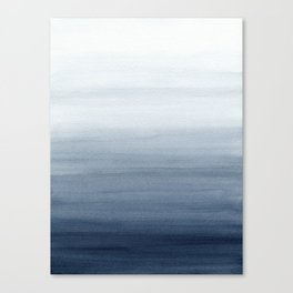 Ocean Watercolor Painting No.2 Canvas Print