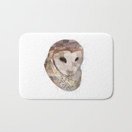 Barn Owl Bath Mat