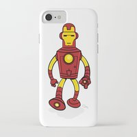 bender iPhone & iPod Cases featuring Iron Bender by Andy Whittingham