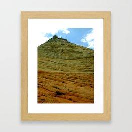 Up the Wall Framed Art Print