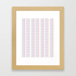 1789-french revolution, révolution française, revolución francesa,human rights,democraty Framed Art Print