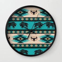 American Native Pattern No. 60 Wall Clock