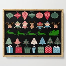 Christmas Elves & More Serving Tray