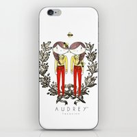 moschino iPhone & iPod Skins featuring BEE LOVE by Fazosinnworld