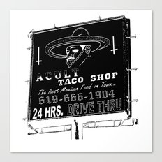 TACO SMELL Canvas Print
