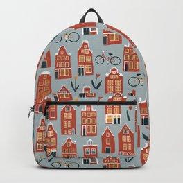 Charming Dutch Houses Backpack