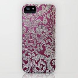 Vintage Venice - Flower Pattern iPhone Case