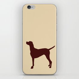 Vizsla Dog Print iPhone Skin