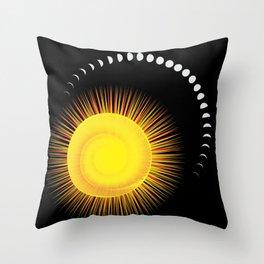 Measuring Time Throw Pillow