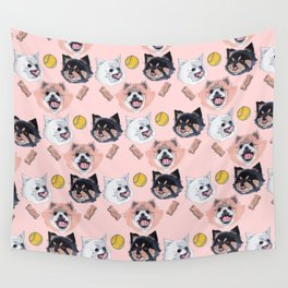 Pom Party Wall Tapestry
