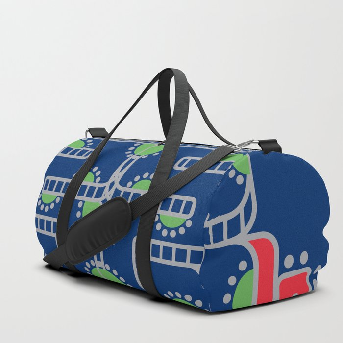 Koru-Fern Serpent Duffle Bag
