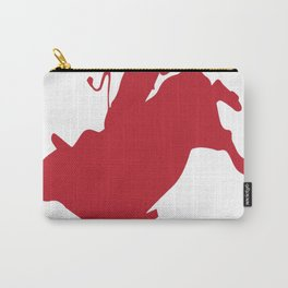 Bull riding momma copy Carry-All Pouch