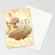 Cecil the Lion's Social Networks Revenge Stationery Cards